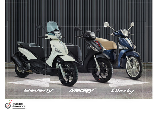 Gamma Piaggio smart distancing